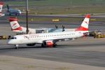 k-spotterさんが、ウィーン国際空港で撮影したオーストリア航空 ERJ-190-200 LR (ERJ-195LR)の航空フォト(写真)
