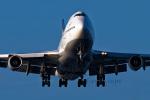 EarthScapeさんが、関西国際空港で撮影したルフトハンザドイツ航空 747-430の航空フォト(写真)