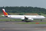 SFJ_capさんが、成田国際空港で撮影したフィリピン航空 A340-313Xの航空フォト(写真)