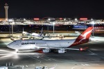 MIZUSHINさんが、羽田空港で撮影したカンタス航空 747-438の航空フォト(写真)