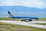 T.Sazenさんが、関西国際空港で撮影したベトナム航空 A350-941XWBの航空フォト(飛行機 写真・画像)