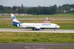 jombohさんが、デュッセルドルフ国際空港で撮影したサンエクスプレス 737-8HCの航空フォト(写真)