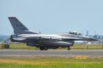 350JMさんが、横田基地で撮影したアメリカ空軍 F-16CM-50-CF Fighting Falconの航空フォト(写真)