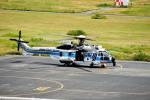 T.Sazenさんが、関西国際空港で撮影した海上保安庁 EC225LP Super Puma Mk2+の航空フォト(飛行機 写真・画像)