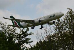 takatakaさんが、成田国際空港で撮影したアリタリア航空 A330-202の航空フォト(飛行機 写真・画像)