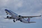 ぬま_FJHさんが、関西国際空港で撮影したチャイナエアライン A330-302の航空フォト(写真)
