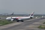 飛行機ゆうちゃんさんが、関西国際空港で撮影したマレーシア航空 A330-323Xの航空フォト(写真)