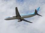 ゆう改めてさんが、福岡空港で撮影した大韓航空 737-9B5の航空フォト(写真)