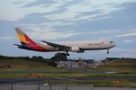 VEZEL 1500Xさんが、成田国際空港で撮影したアシアナ航空 767-38Eの航空フォト(写真)