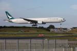 VEZEL 1500Xさんが、成田国際空港で撮影したキャセイパシフィック航空 777-367の航空フォト(写真)