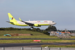 VEZEL 1500Xさんが、成田国際空港で撮影したジンエアー 737-8SHの航空フォト(写真)