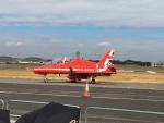 Yumasomaさんが、ファンボロー空港で撮影したイギリス空軍 BAe Hawk T1の航空フォト(写真)
