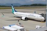 OMAさんが、広島空港で撮影したシルクエア 737-8-MAXの航空フォト(飛行機 写真・画像)