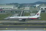 Noyu30さんが、クアラルンプール国際空港で撮影したマレーシア航空 737-8FHの航空フォト(写真)