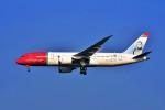 Hiro Satoさんが、スワンナプーム国際空港で撮影したノルウェー・エアシャトル・ロングホール 787-8 Dreamlinerの航空フォト(写真)