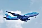 Hiro Satoさんが、スワンナプーム国際空港で撮影した大韓航空 747-4B5の航空フォト(写真)