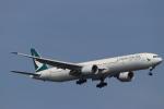 imosaさんが、羽田空港で撮影したキャセイパシフィック航空 777-367/ERの航空フォト(写真)