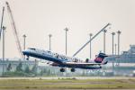 Cygnus00さんが、新千歳空港で撮影したアイベックスエアラインズ CL-600-2C10 Regional Jet CRJ-702ERの航空フォト(写真)