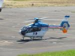sp3混成軌道さんが、岡南飛行場で撮影した産経新聞社 EC135T1の航空フォト(写真)