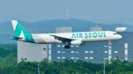 パンダさんが、新千歳空港で撮影したエアソウル A321-231の航空フォト(飛行機 写真・画像)