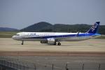 ピーチさんが、岡山空港で撮影した全日空 A321-272Nの航空フォト(写真)