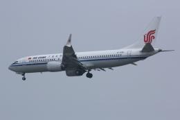 航空フォト:B-1396 中国国際航空 737 MAX 8
