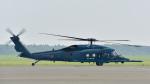 パンダさんが、千歳基地で撮影した航空自衛隊 UH-60Jの航空フォト(写真)