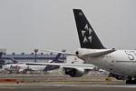 しゅあさんが、成田国際空港で撮影したタイ国際航空 747-4D7の航空フォト(写真)