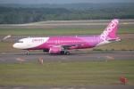 OMAさんが、新千歳空港で撮影したピーチ A320-214の航空フォト(飛行機 写真・画像)