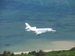 おっつんさんが、新石垣空港で撮影した海上保安庁 Falcon 900の航空フォト(写真)
