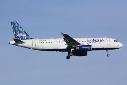 いっとくさんが、ジョン・F・ケネディ国際空港で撮影したジェットブルー A320-232の航空フォト(写真)
