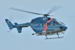 うめやしきさんが、茨城空港で撮影した茨城県警察 BK117C-1の航空フォト(飛行機 写真・画像)