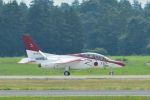 うめやしきさんが、茨城空港で撮影した航空自衛隊 T-4の航空フォト(写真)