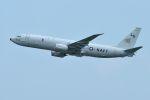 うめやしきさんが、厚木飛行場で撮影したアメリカ海軍 P-8A (737-8FV)の航空フォト(飛行機 写真・画像)