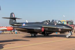 チャッピー・シミズさんが、フェアフォード空軍基地で撮影したイギリス空軍 Meteor T.7の航空フォト(飛行機 写真・画像)