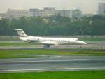 まいけるさんが、チャトラパティー・シヴァージー国際空港で撮影したリライアンス・インダストリーズ ERJ-135ERの航空フォト(写真)