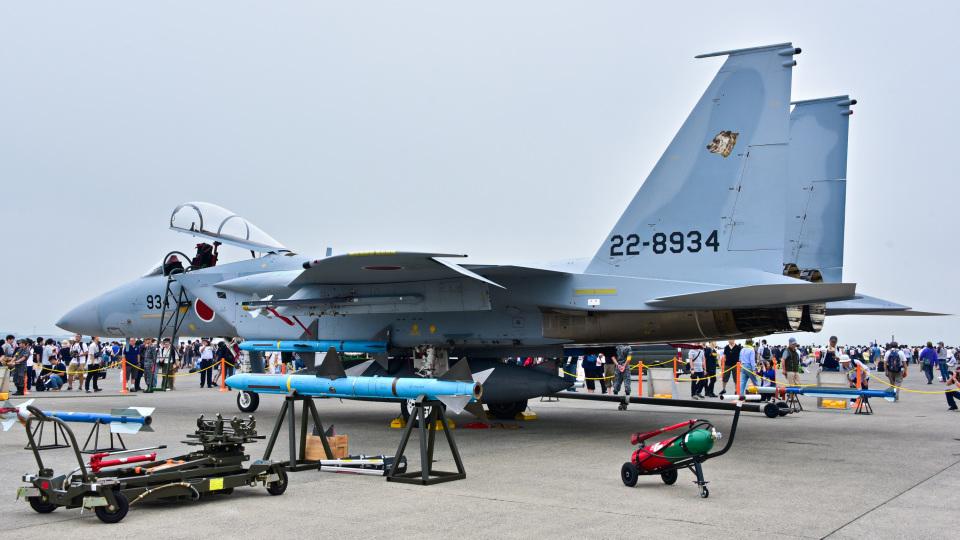 パンダさんの航空自衛隊 Mitsubishi F-15J Eagle (22-8934) 航空フォト