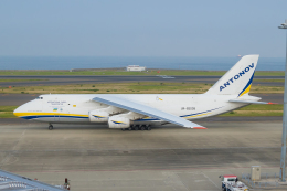 ストロベリーさんが、中部国際空港で撮影したアントノフ・エアラインズ An-124-100M Ruslanの航空フォト(飛行機 写真・画像)