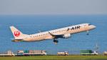 パンダさんが、羽田空港で撮影したジェイエア ERJ-190-100(ERJ-190STD)の航空フォト(飛行機 写真・画像)