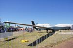 ちゃぽんさんが、アバロン空港で撮影したアメリカ海軍 MQ-4C Tritonの航空フォト(写真)