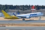 panchiさんが、成田国際空港で撮影したポーラーエアカーゴ 767-3JHF(ER)の航空フォト(飛行機 写真・画像)