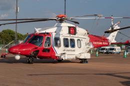 チャッピー・シミズさんが、フェアフォード空軍基地で撮影したブリストウ・ヘリコプターズ AW189の航空フォト(飛行機 写真・画像)