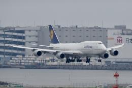 飛行機ゆうちゃんさんが、羽田空港で撮影したルフトハンザドイツ航空 747-830の航空フォト(飛行機 写真・画像)