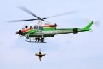 SAMBAR-2463さんが、群馬県高崎市上室田町(場外)で撮影した群馬県防災航空隊 412EPの航空フォト(写真)