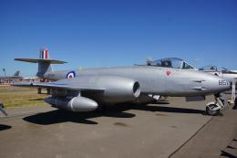 ちゃぽんさんが、アバロン空港で撮影したイギリス空軍 Meteor F.8の航空フォト(飛行機 写真・画像)
