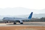 Jyunpei Ohyamaさんが、広島空港で撮影したガルーダ・インドネシア航空 A330-341の航空フォト(写真)