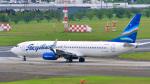 パンダさんが、成田国際空港で撮影したヤクティア・エア 737-86Nの航空フォト(飛行機 写真・画像)
