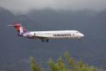ノビタ君さんが、カフルイ空港で撮影したハワイアン航空 717-22Aの航空フォト(写真)