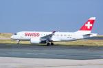 xingyeさんが、パリ シャルル・ド・ゴール国際空港で撮影したスイスインターナショナルエアラインズ BD-500-1A10 CSeries CS100の航空フォト(写真)