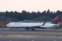 kikiさんが、成田国際空港で撮影したデルタ航空 767-3P6/ERの航空フォト(飛行機 写真・画像)